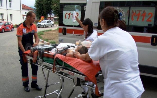 O minoră din Suhaia şi doi pasageri din Smârdioasa şi Zimnicea, transportaţi la Spitalul Floreasca în urma unui accident rutier