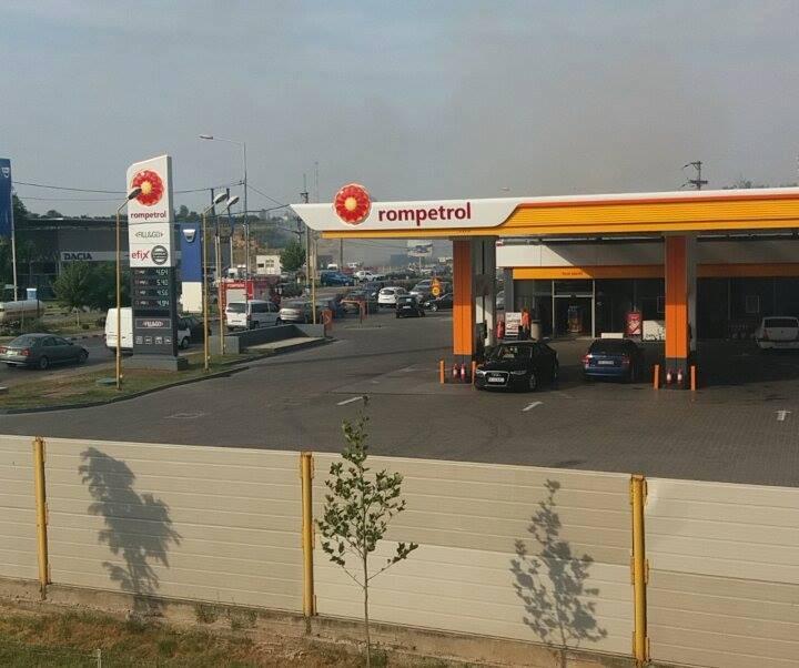 Service-ul lui Popescu, la un pas de a fi cuprins de flăcări!