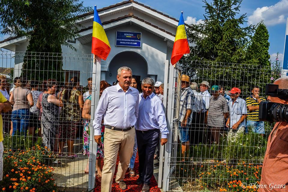 Liviu Dragnea, în comuna Saelele, la inaugurarea Centrului pentru bătrâni (Foto)