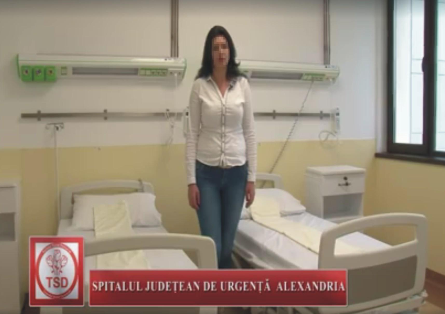 ȘOCANT! Tinerii din PSD Teleorman au scos bolnavii din saloanele Spitalul Județean pentru a-și face clip de promovare