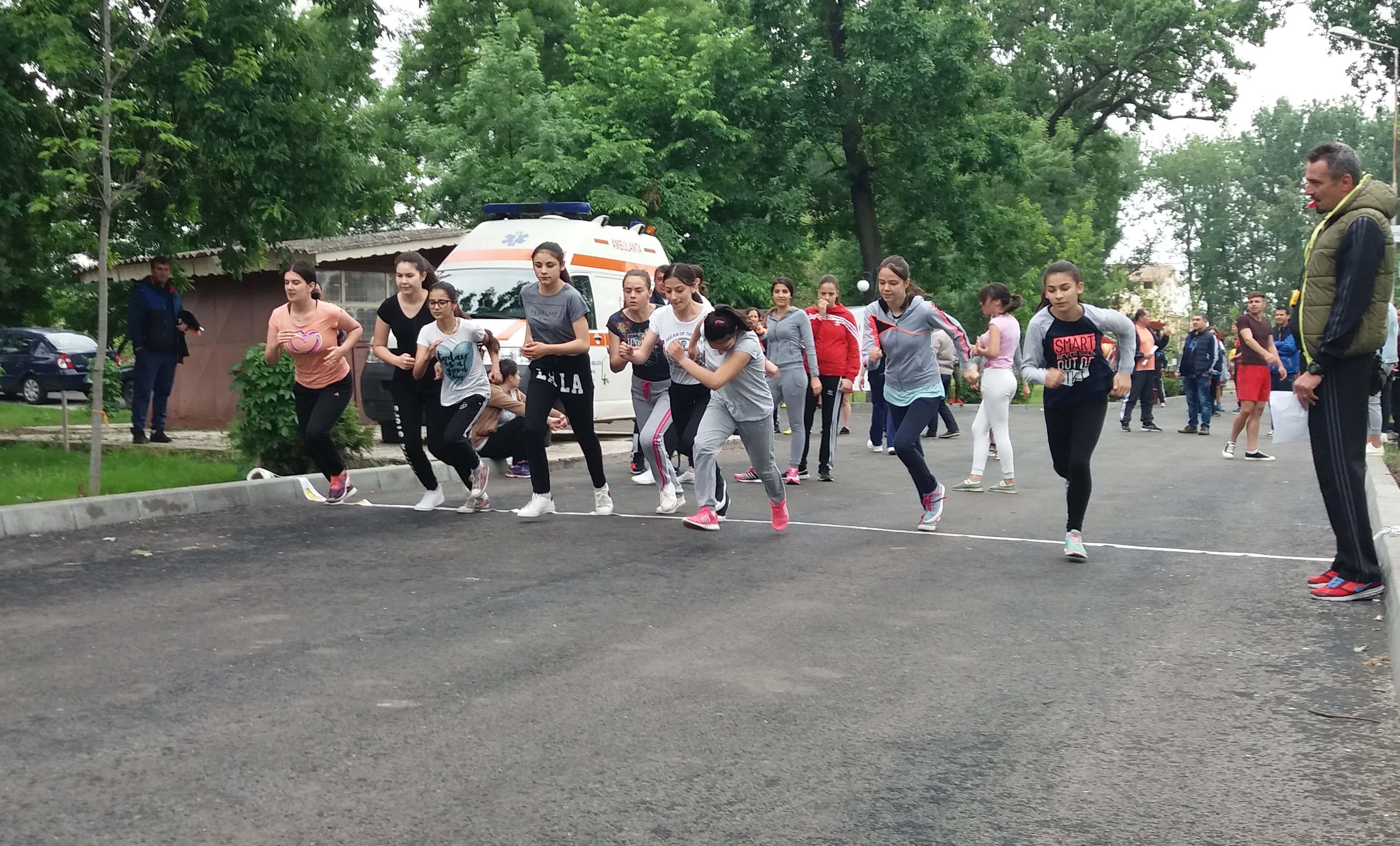 """""""Crosul Tineretului"""", competiţie organizată de DJST Teleorman, şi-a desemnat câştigătorii / FOTO"""