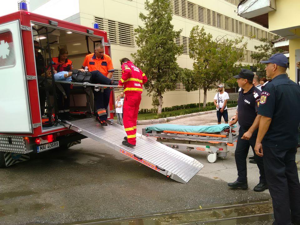 Accident cumplit pe E70. Cinci cetăţeni bulgari au ajuns la spital