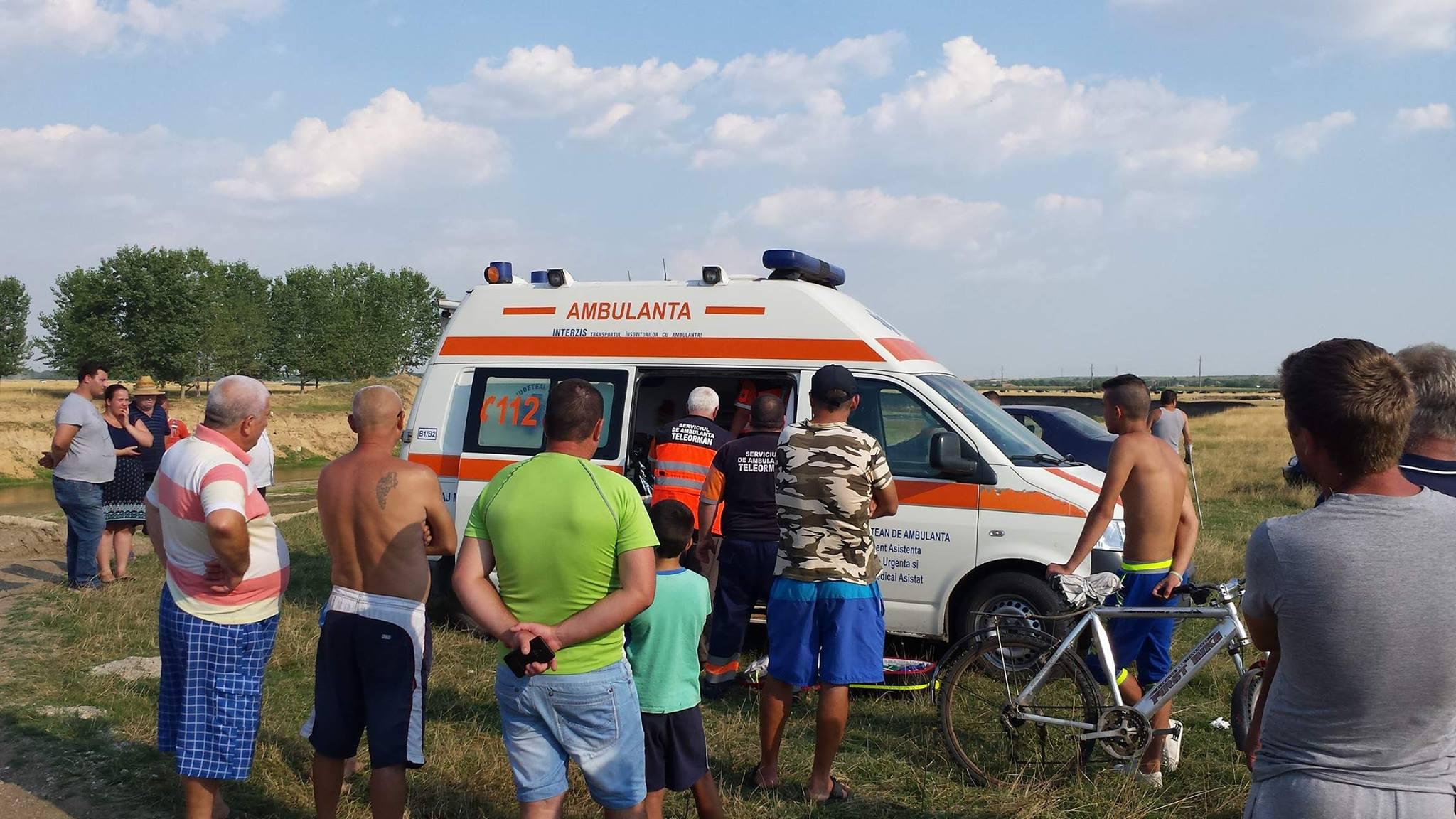 Un băiat din comuna Plosca s-a înecat în râul Vedea. Medicii au început manevrele de resuscitare