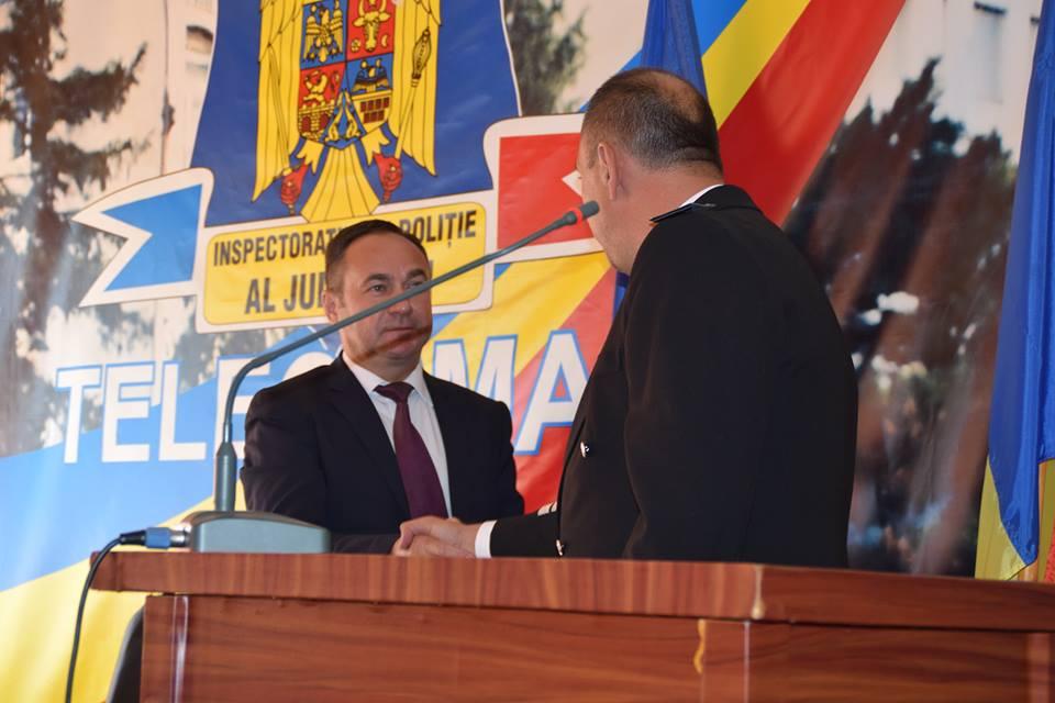 Comisarul de poliție Tudorel Pieleanu, numit ȘEF la Inspectoratul de Poliție Județean Argeș