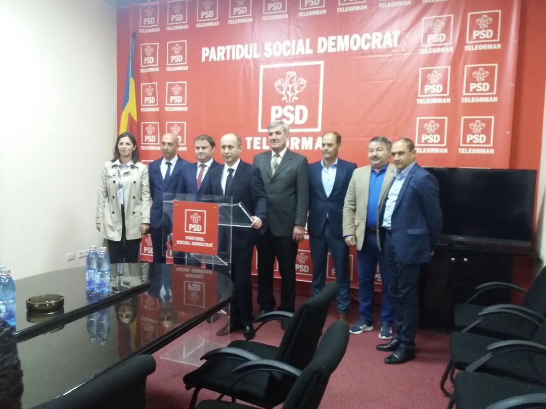 PSD Teleorman a prezentat candidaţii pentru alegerile locale parţiale din comunele Poeni, Salcia şi Cervenia