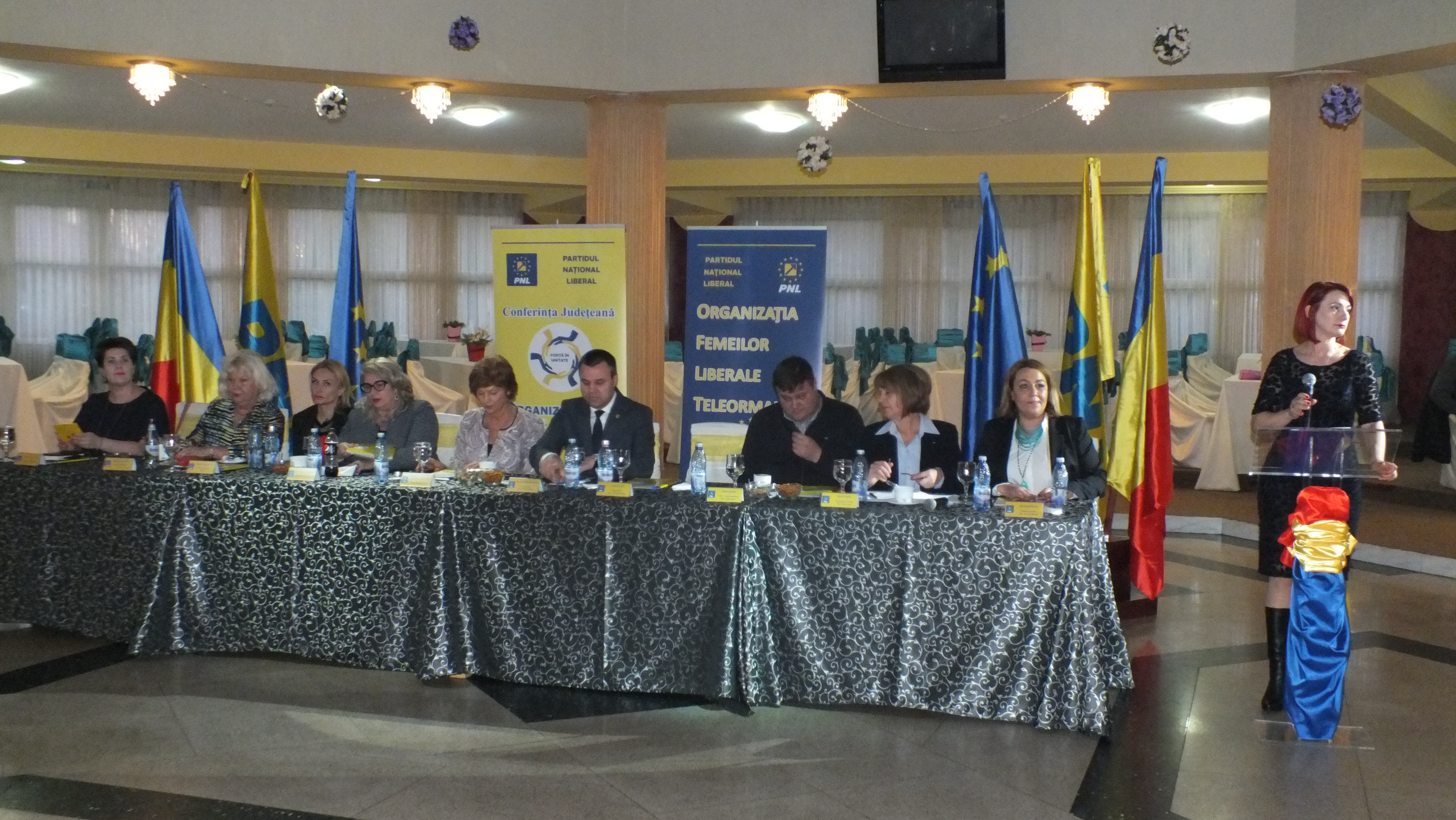 Florina Urdoi a fost aleasă preşedinte al Organizaţiei Femeilor Liberale din Teleorman