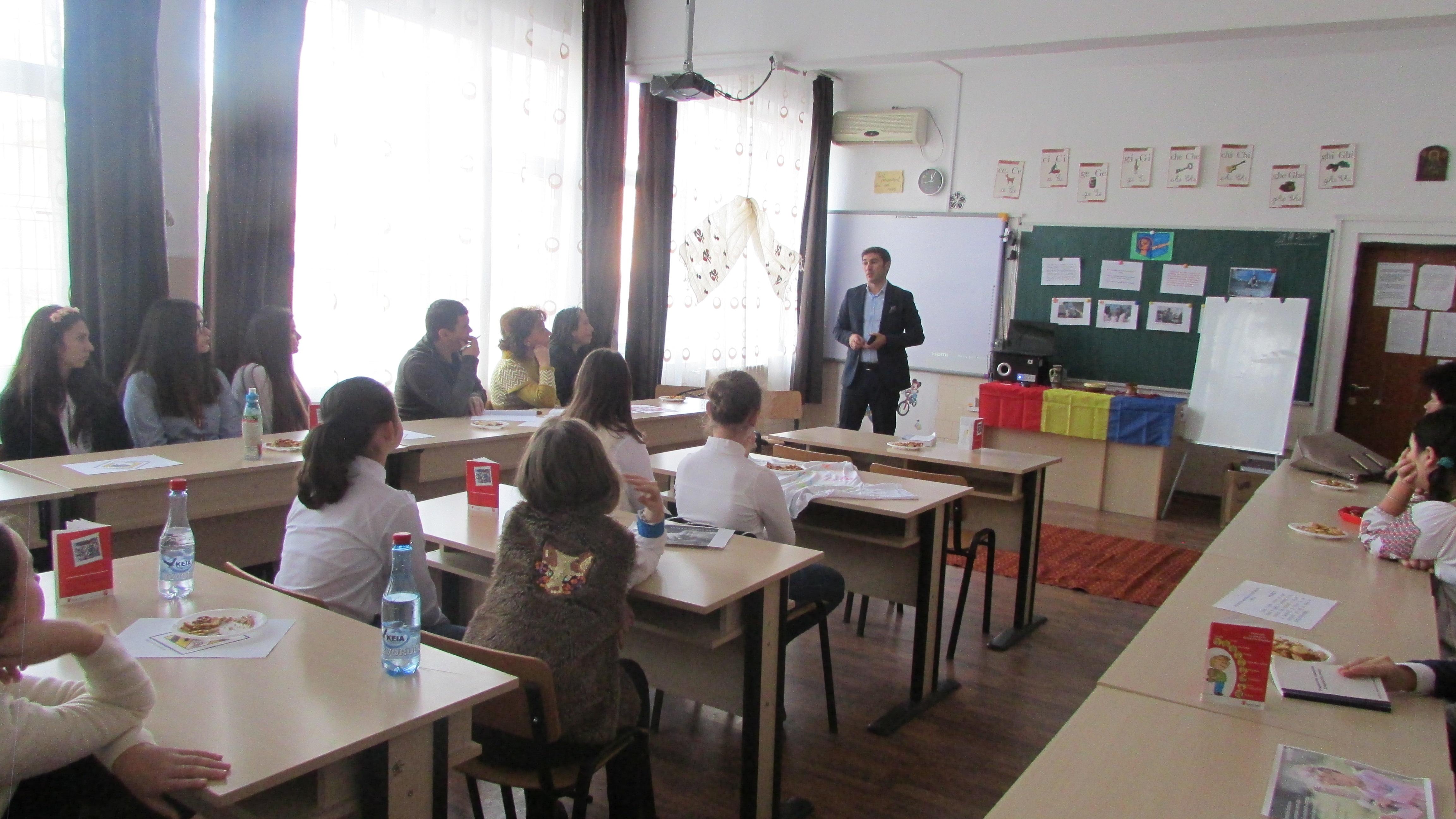 Educaţie pentru valori şi drepturile omului, la Şcoala Gimnazială nr. 2 Videle