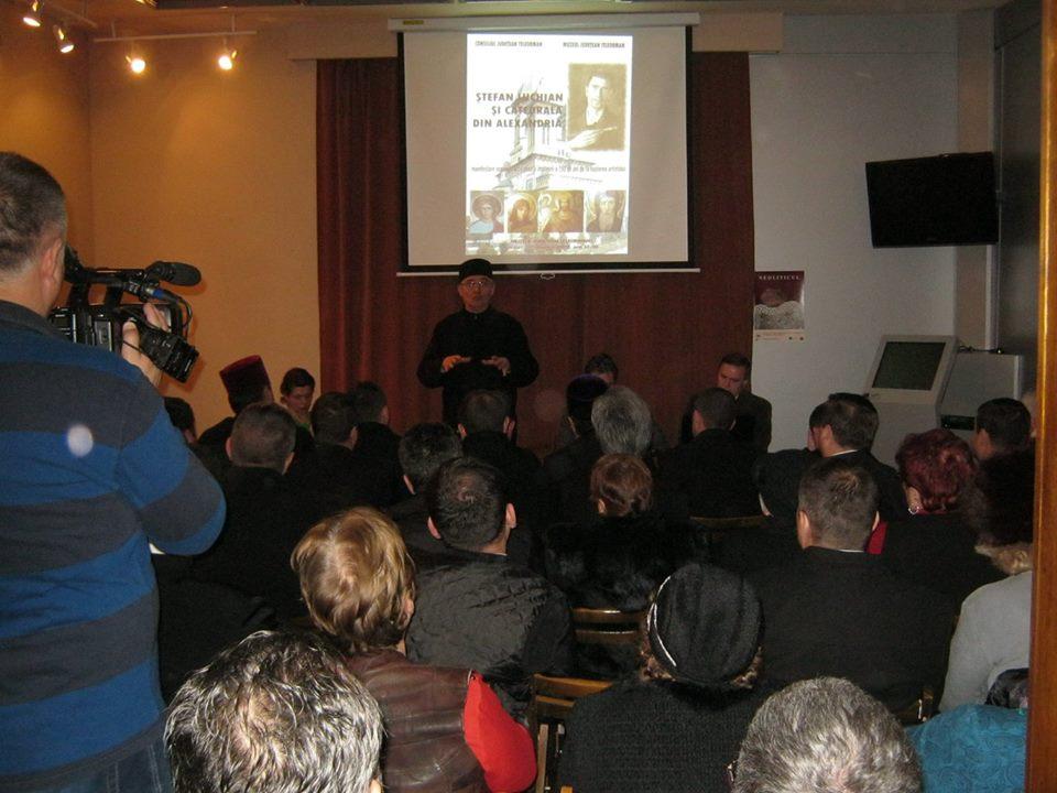 ŞTEFAN LUCHIAN, PICTORUL CU LUCRĂRI LA CATEDRALA EPISCOPALĂ, OMAGIAT LA ALEXANDRIA