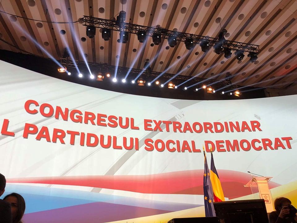 Congres PSD: Viorica Dăncilă, aleasă Președinte Executiv iar ministrul Dan Carmen Daniela, vicepreședinte