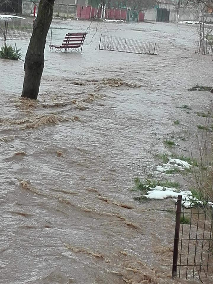 ALERTĂ HIDRO! Cod Portocaliu de inundații pe râul Teleormanul, până mâine seară