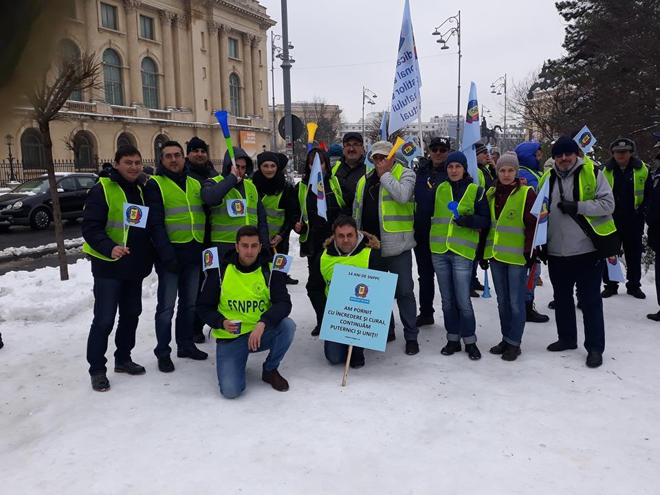 50 de polițiști din Teleorman vor protesta joi, în fața Ministerului Administrației și Internelor
