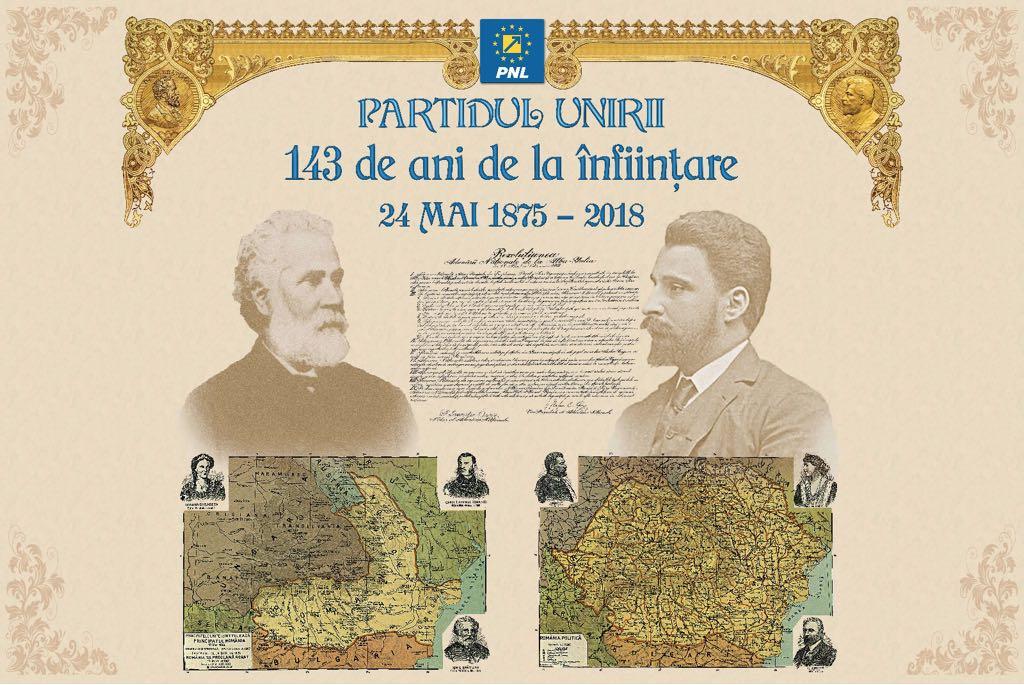 Comunicat de presă- Partidul Național Liberal, Partidul Unirii care a făcut România Mare și modernă