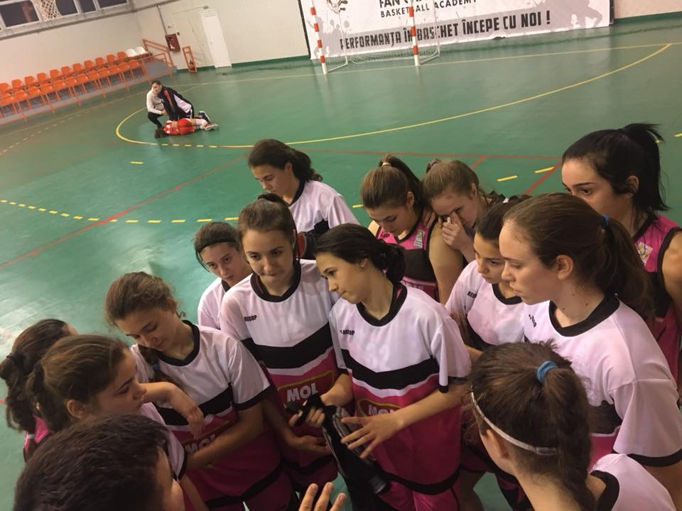 BASCHET FEMININ / O NOUĂ VICTORIE CATEGORICĂ PENTRU CSS ALEXANDRIA IN TURNEUL FINAL UNDER 16