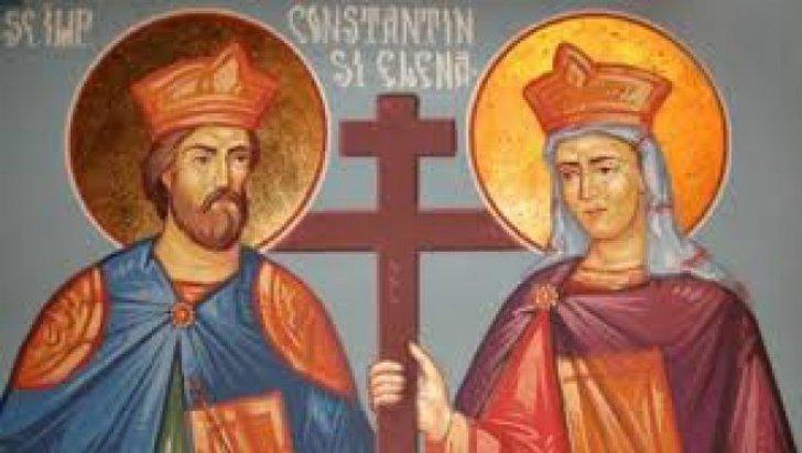 Sărbătoarea Sfinţilor Împăraţi Constantin şi Elena
