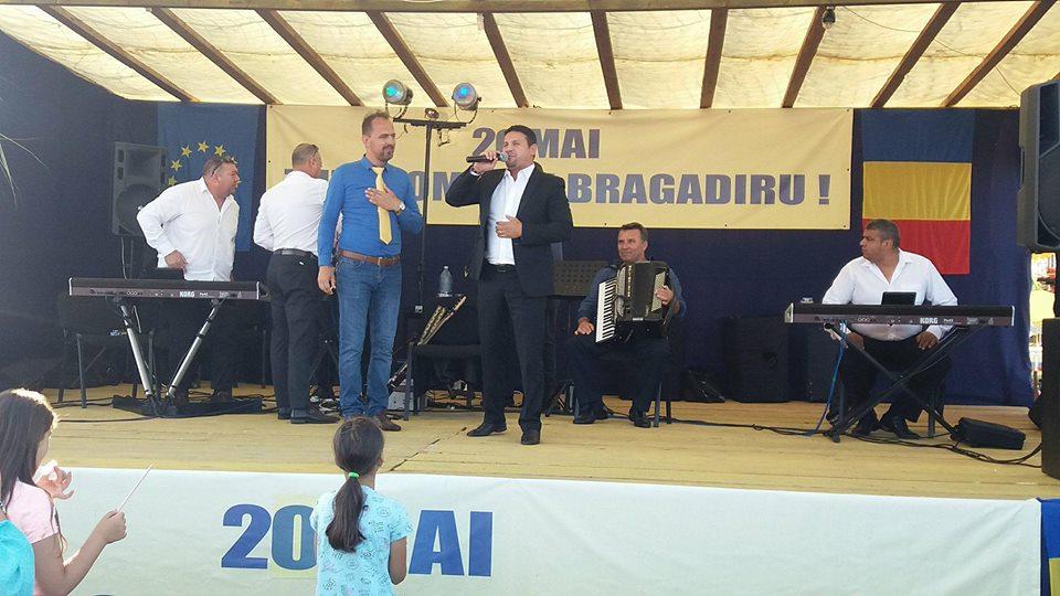 La Bragadiru, de Ziua comunei, renumitul artist Nicu Paleru a făcut SHOW!