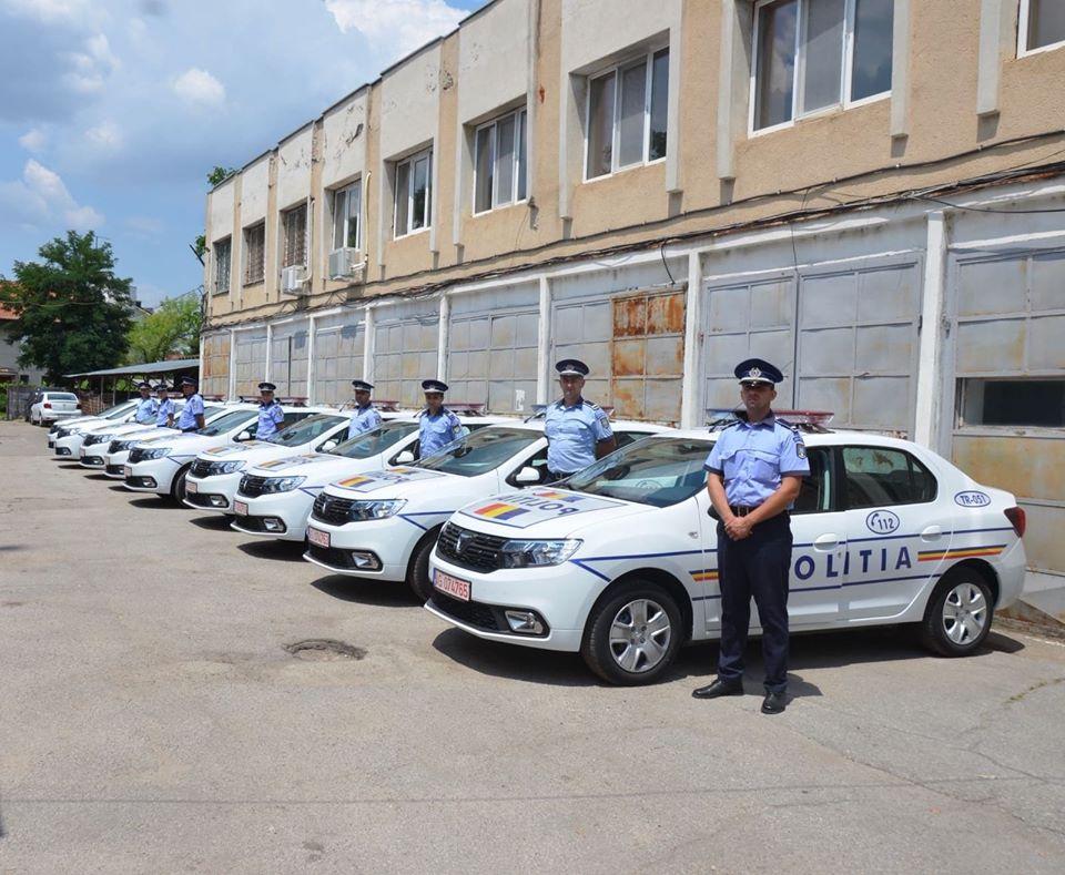 Mașini noi pentru Poliția Teleorman. 13 autospeciale vor asigura ordinea publică și rutieră pe drumurile din județ