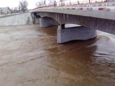 COD PORTOCALIU de inundaţii pe râurile mici din Teleorman, până la ora 16.00