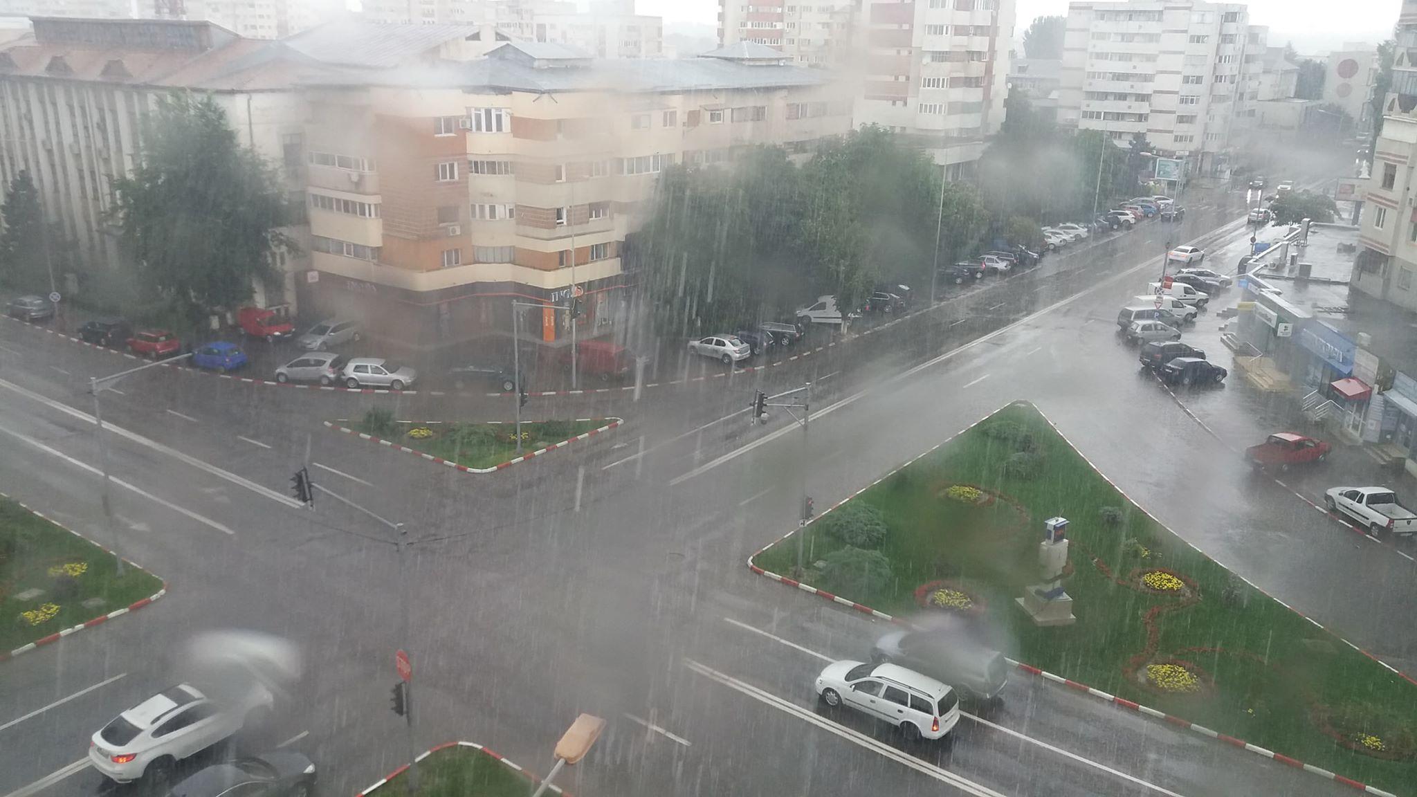 ALERTĂ METEO! Alexandria și 29 de localități din Teleorman, sub COD GALBEN de vreme severă imediată