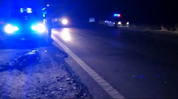 Accident mortal pe E70! Bărbatul s-ar fi speriat de câini, a intrat pe șosea, moment în care a fost spulberat de un TIR