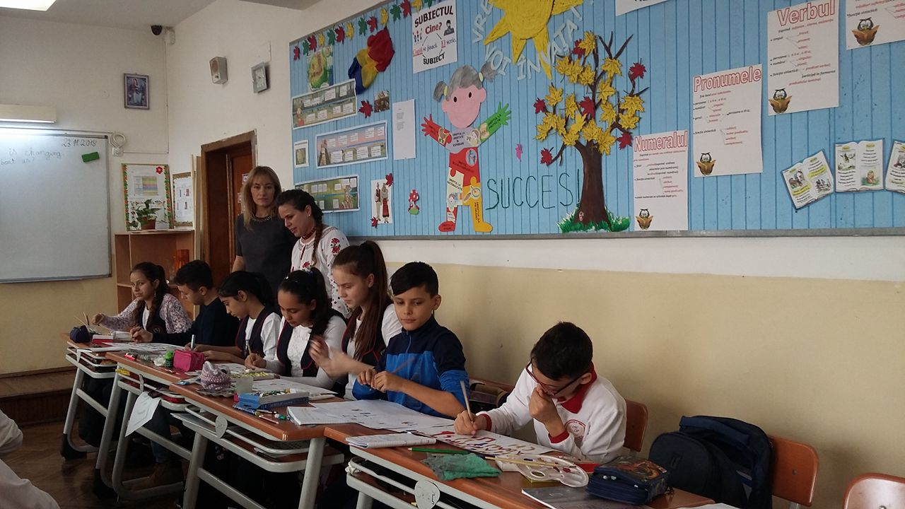 "Școala Gimnazială ,,Mihai Viteazul"" – GLOBAL EDUCATION WEEK"