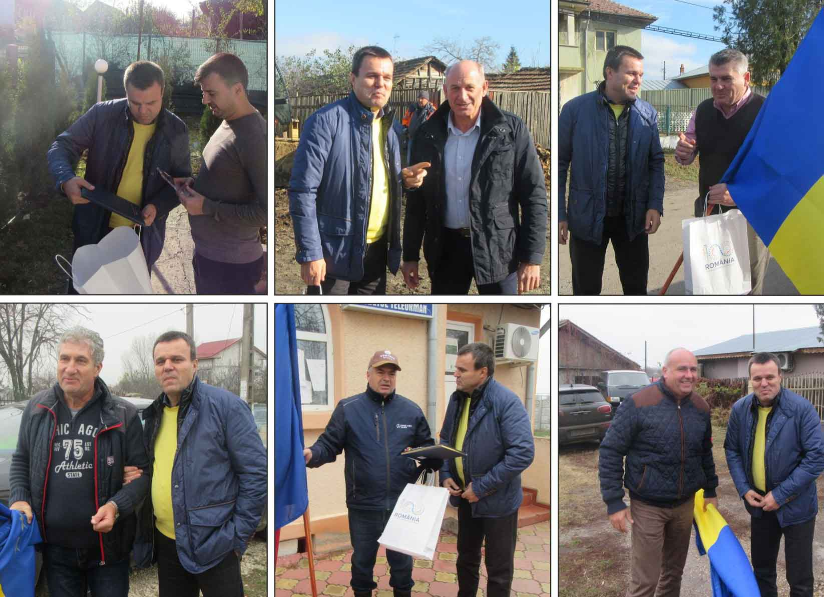 Senatorul Eugen Pîrvulescu, alături de primarii liberali, într-o amplă campanie de promovare a Centenarului