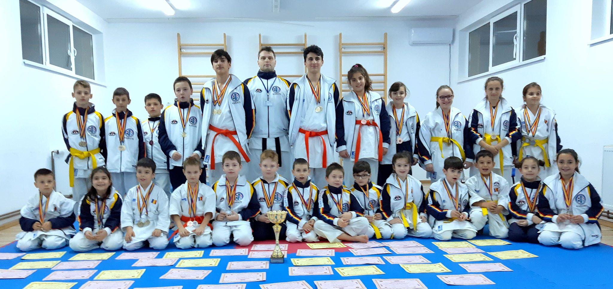 Rezultate notabile pentru clubul ACS SEISHINDOKAN la Campionatul Naţional de Karate pe echipe SKDUN, ediţia 2018