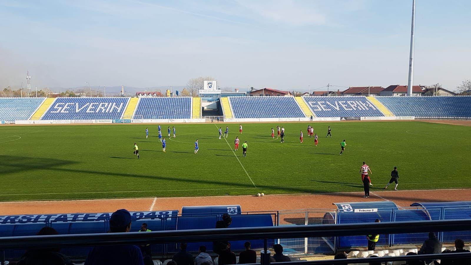 U. Craiova a câștigat fără emoții partida cu Sporting Roșiori