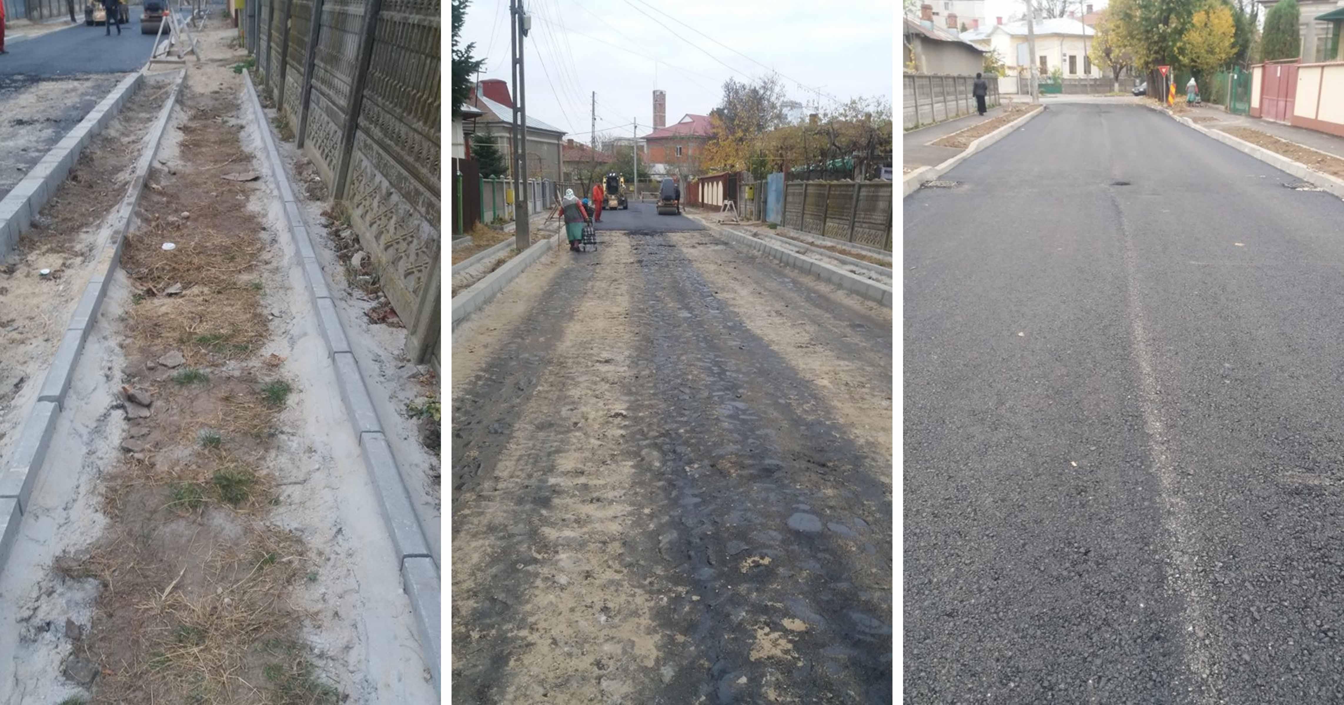 Şapte străzi din Roşiorii de Vede sunt în ample lucrări de reparaţii şi modernizare