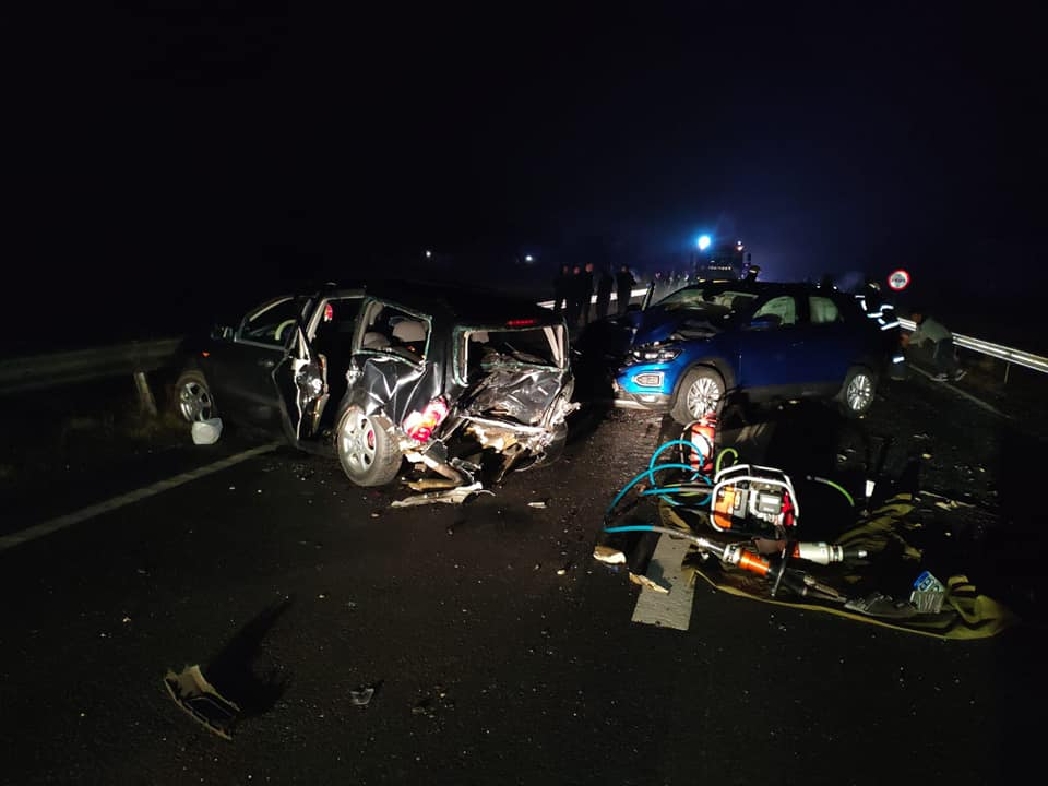 Două persoane din Mavrodin, rănite destul de grav în accidentul de pe European 70