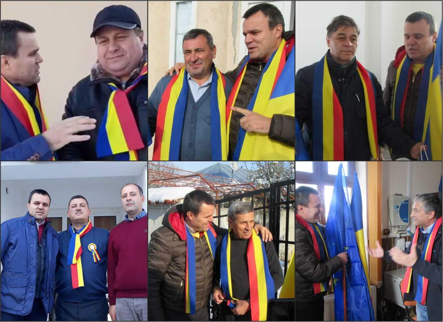 Senatorul Eugen Pîrvulescu a continuat campania de promovare a Centenarului, în zeci de localităţi teleormănene