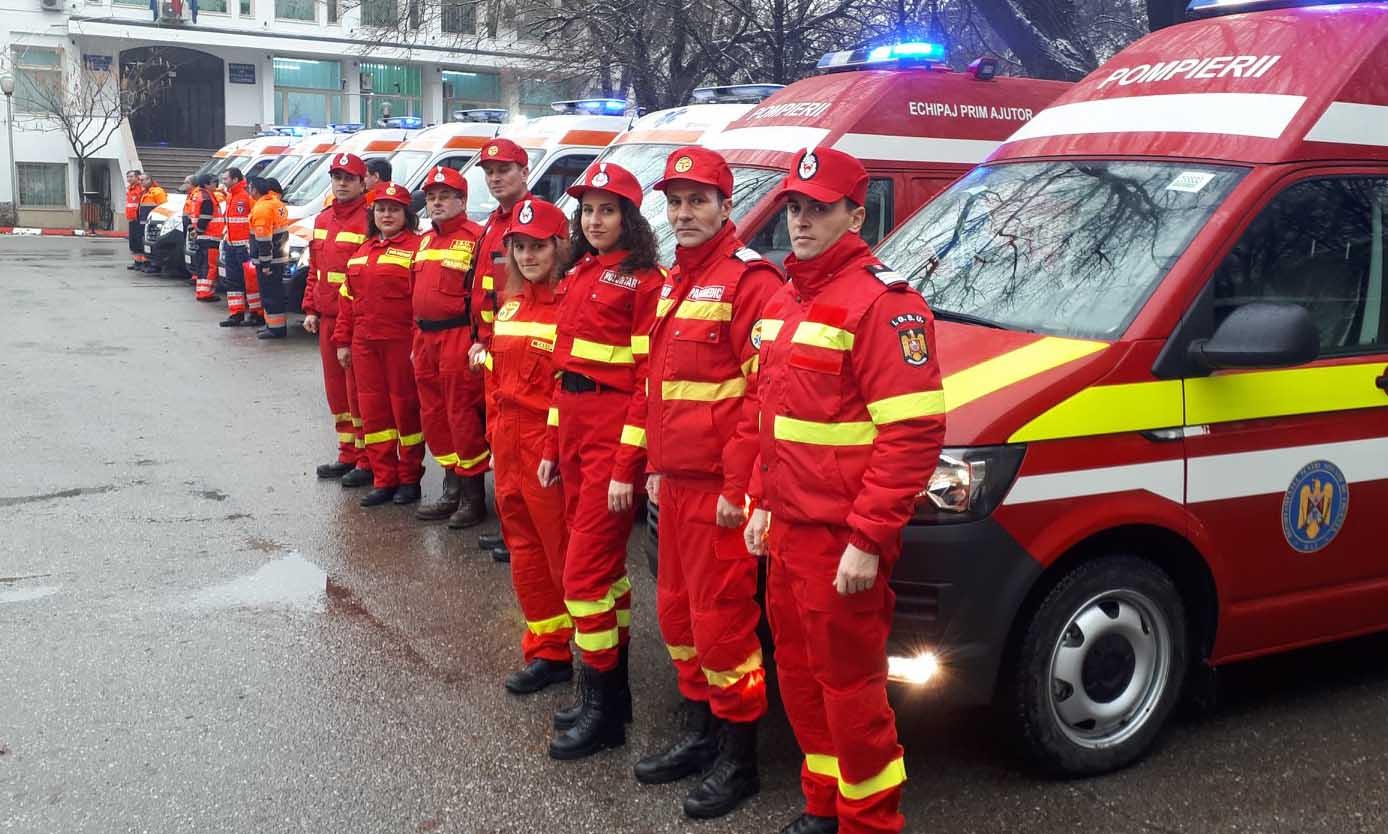 Ambulanţe noi pentru judeţul Teleorman