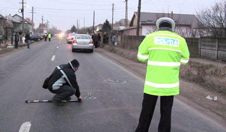 Accident mortal pe E70, în comuna Peretu. Un bărbat de 63 de ani şi-a pierdut viaţa după ce a fost lovit de un autoturism