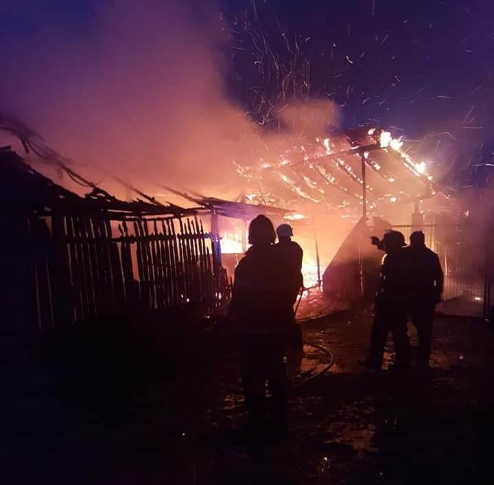 Pompierii din Turnu au evitat un dezastru. Oamenii focului au salvat casa unui islăzean, în care locuiau cinci persoane