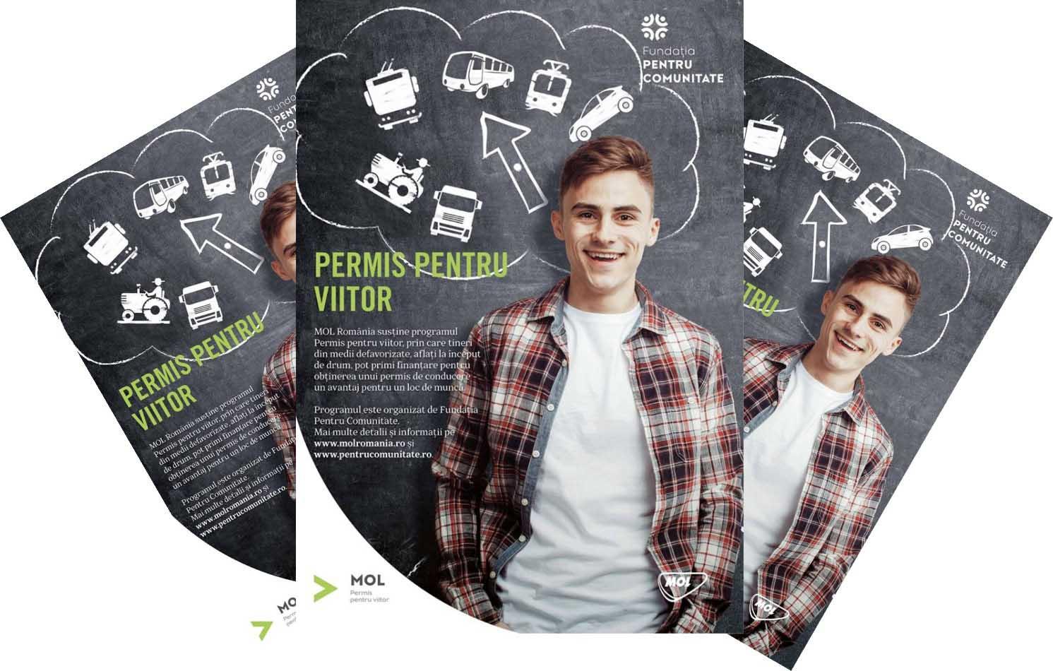 Tinerii fără posibilități din Teleorman pot obține permisul de conducere printr-un Program derulat de MOL România și Fundația pentru Comunitate