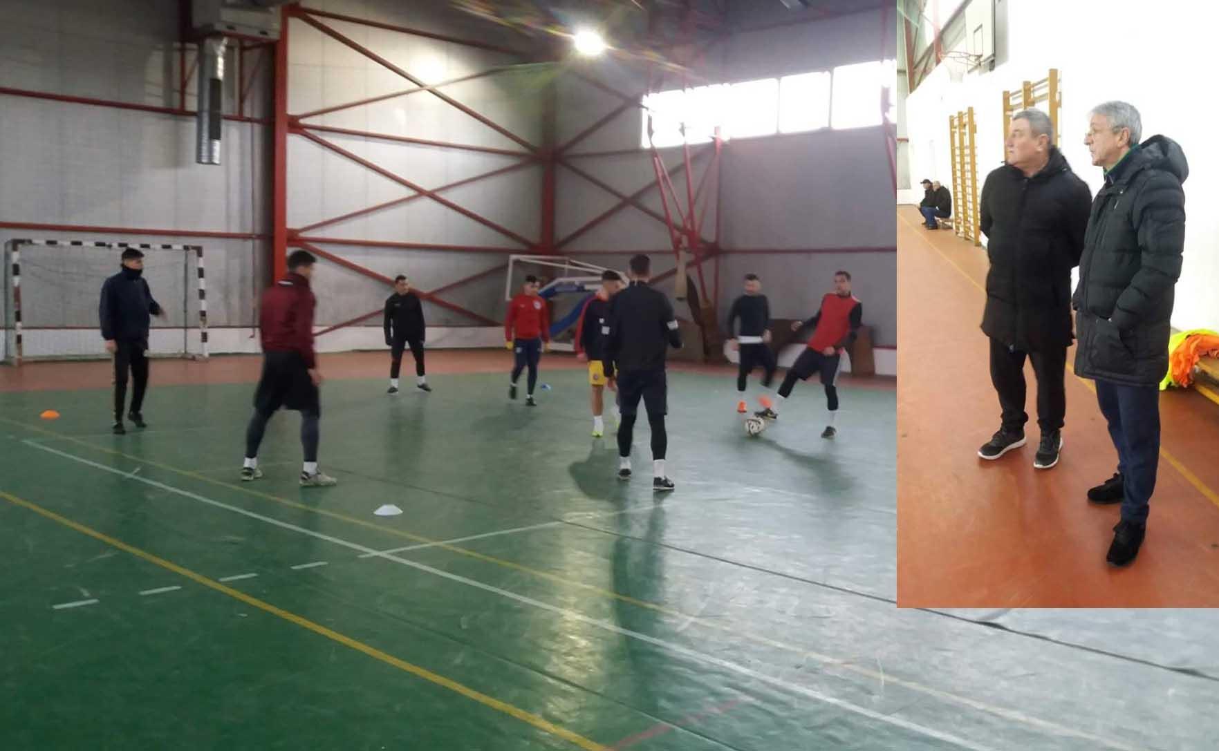 Sporting s-a reunit sub comanda antrenorului Ion Ion