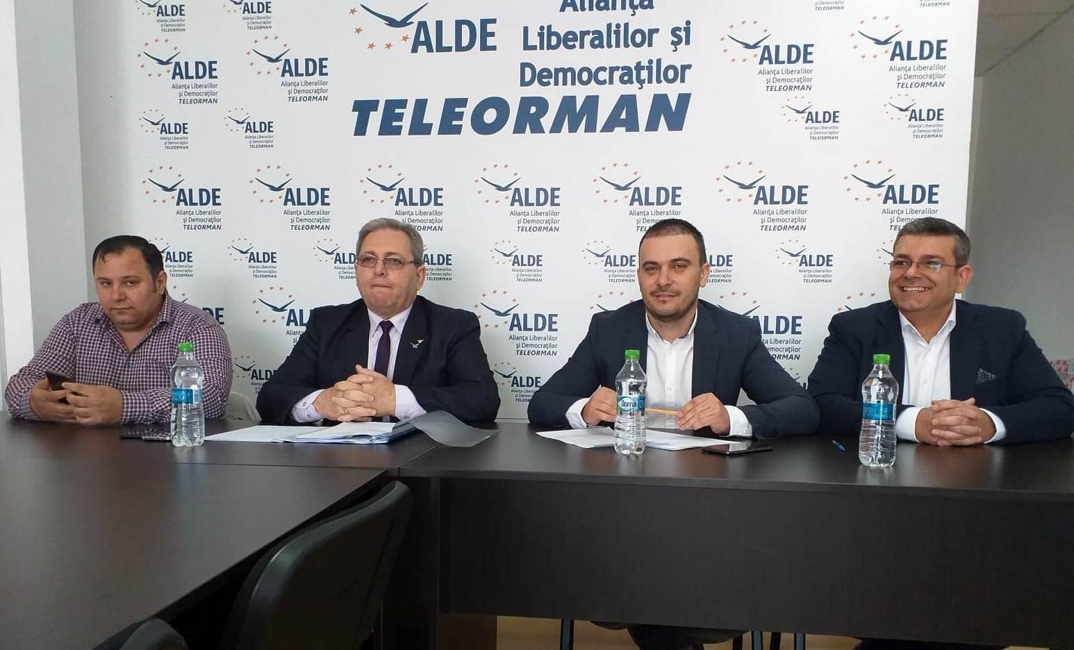 """Cătălin Burcescu, candidat ALDE pentru Parlamentul European, este optimist: """"În Teleorman, vom obține peste 12% din voturi"""""""