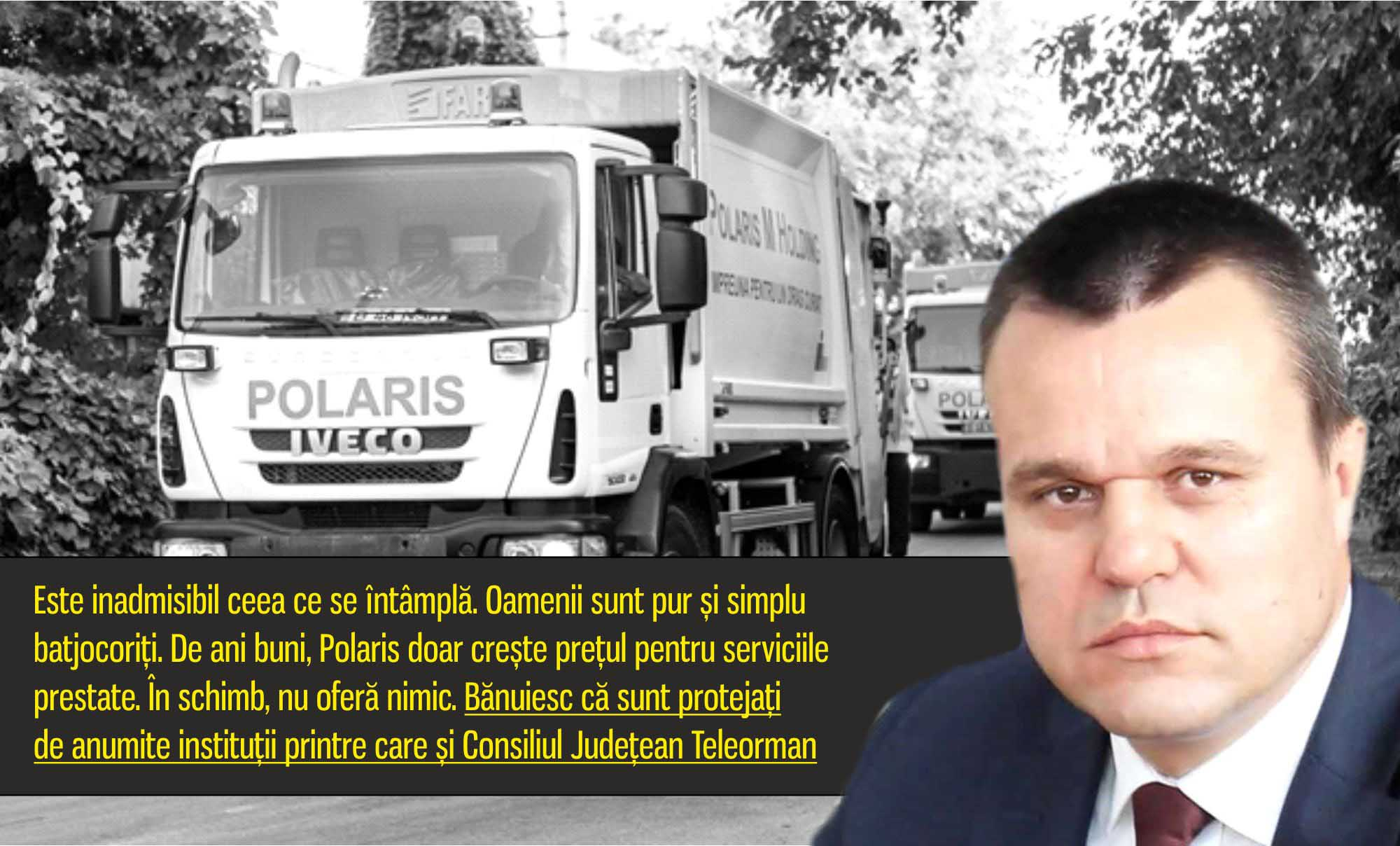 Senatorul Eugen Pîrvulescu, hotărât să pună capăt abuzurilor Polaris. Demnitarul amenință societatea cu plângere penală