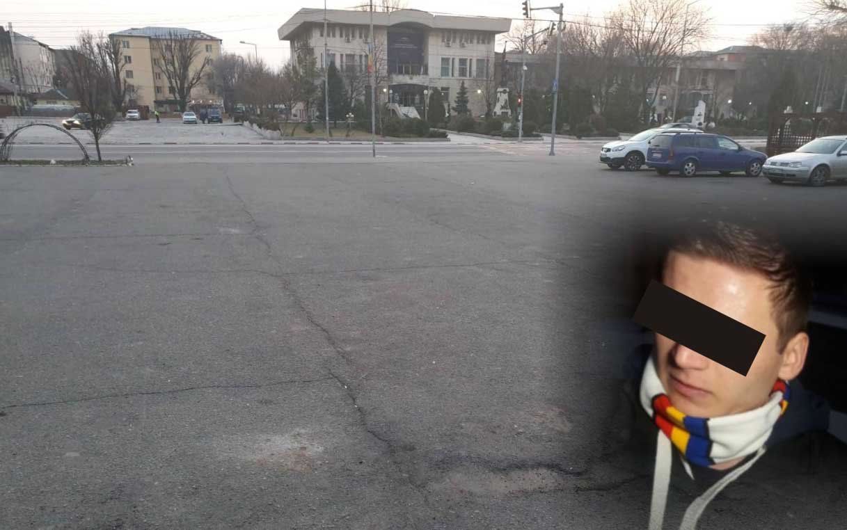 Protest fără protestatari, la Alexandria. Vreo trei gură-cască au pus-o de o şuetă în faţa Casei de Cultură
