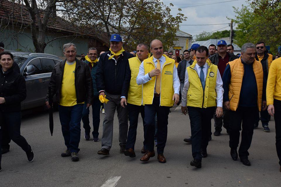 Rareş Bogdan, alături de 5.000 de liberali: Dezastru în Alexandria! În 12 ani, administraţia PSD a reuşit să atragă fonduri europene de numai un milion de euro