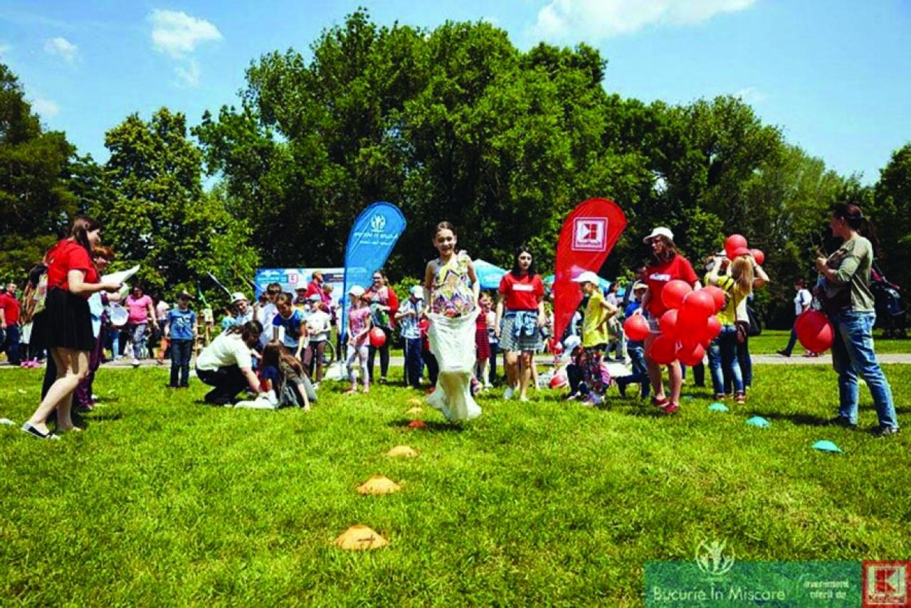 """""""Bucurie în Mișcare"""" ajunge la Alexandria, în perioada 15-16 iunie. Școlile din mediul rural se pot înscrie în Campanie"""