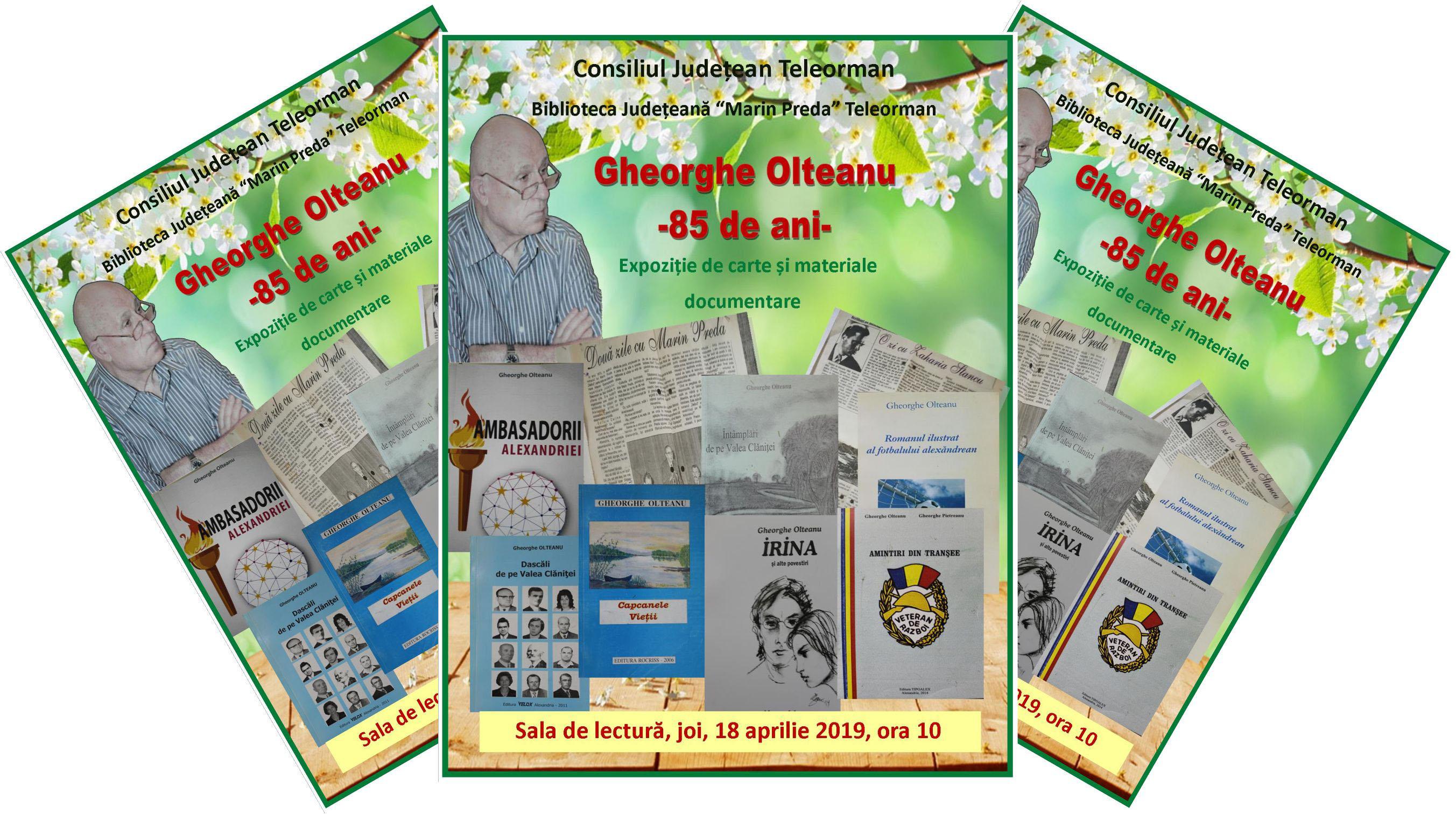 Gheorghe Olteanu – 85 de ani