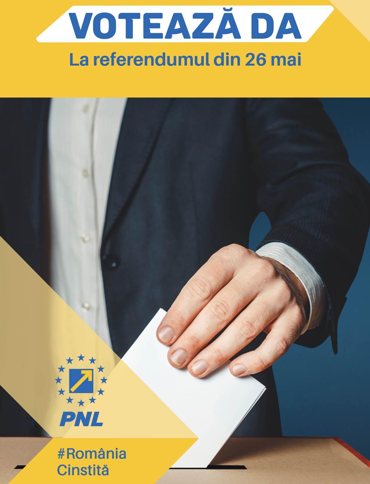 PNL- Comunicat de presă. Stop Justiției de partid! Referendumul, obligatoriu pentru Parlament