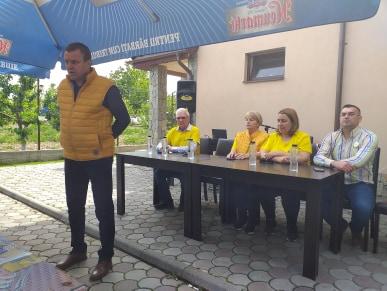 """Senator Eugen Pîrvulescu: """"Organizaţia PNL din Frumoasa are toată susţinerea mea şi a echipei de la judeţ"""""""