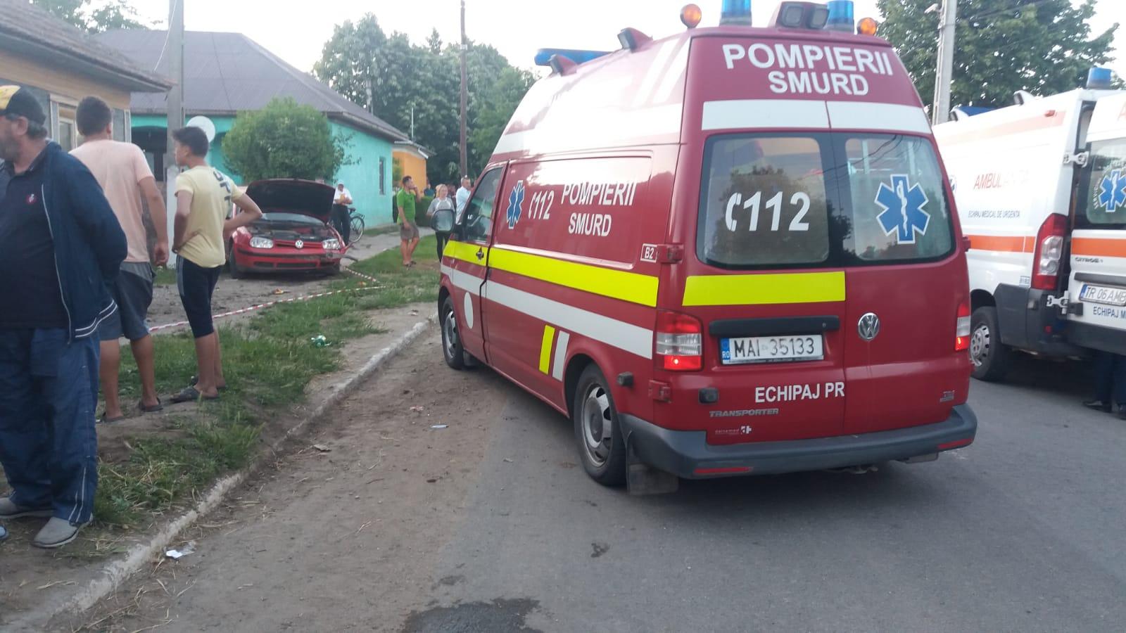 Accident groaznic, în Piatra. Doi copii loviţi de o maşină. Unul este în comă profundă, iar celălalt în stop cardio-respirator