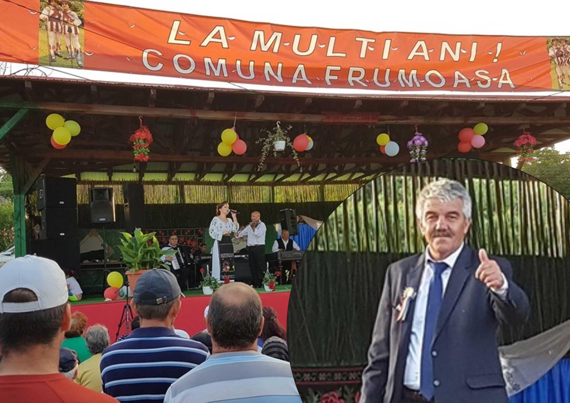 Comuna Frumoasa a îmbrăcat straie de sărbătoare. 11 ani de petrecere şi voie bună