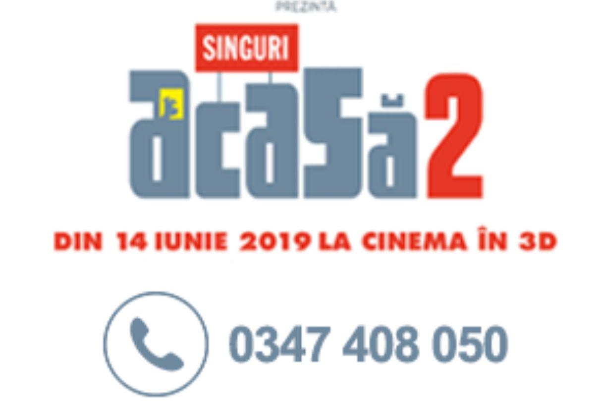 Animația SINGURI ACASĂ 2 la Happy Cinema