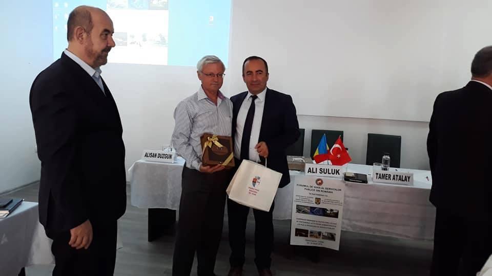 Protocol de colaborare între oraşele Roşiorii de Vede şi Iskilip (Turcia)