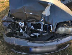 Accident, în Brânceni, provocat de un tânăr de 19 ani, fără permis. Acesta a fugit de la locul evenimentului