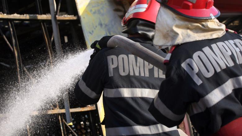 Coşul de fum deteriorat al unui grătar putea să-l lase fără casă pe un cetăţean din comuna Măldăeni