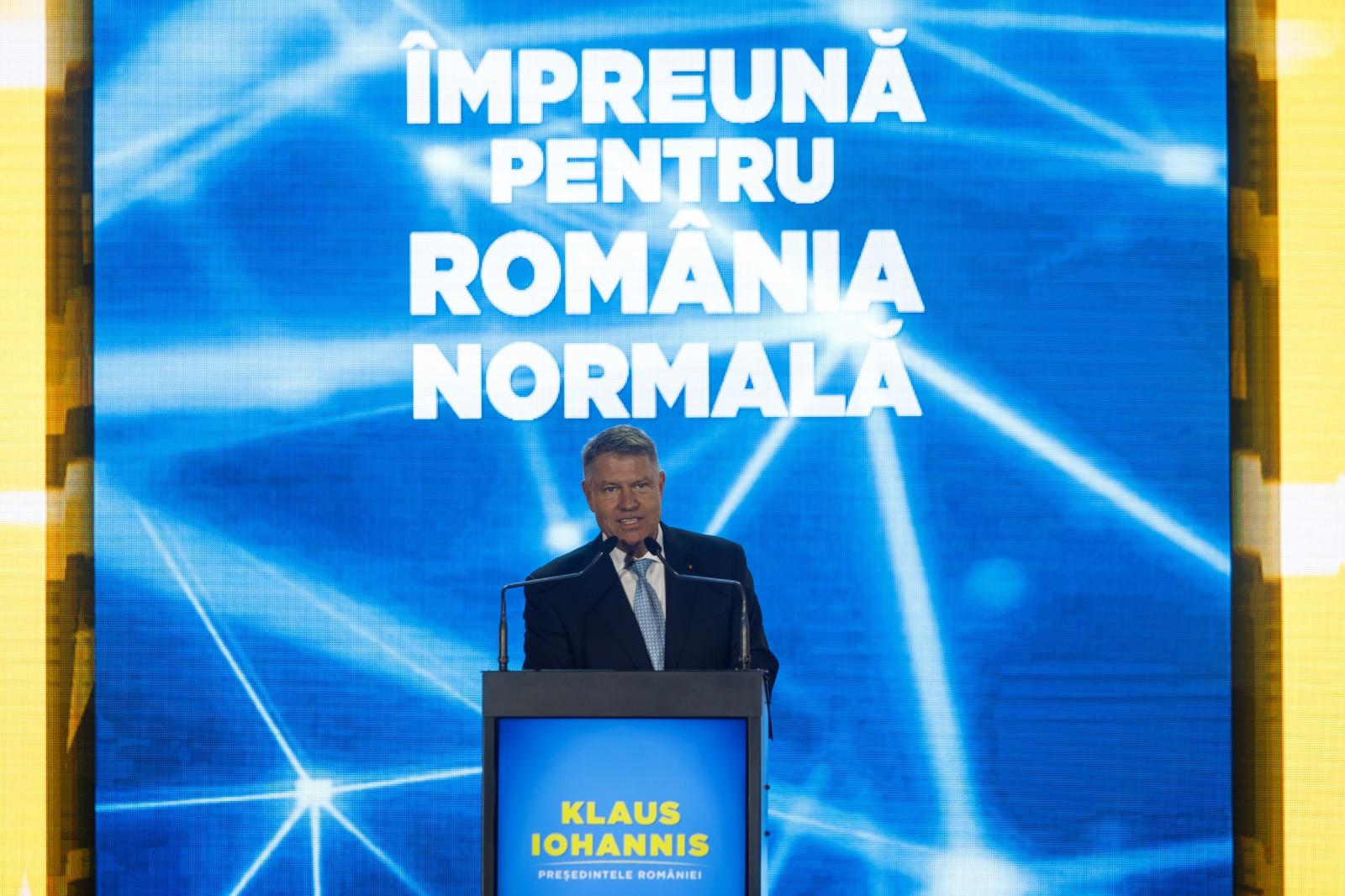 """Klaus Iohannis îi cheamă pe români la vot. """"PSD a schimbat de multe ori fețele, dar niciodată nu și-a schimbat năravul"""""""